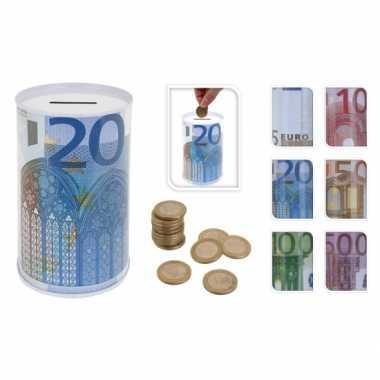 20 euro blikspaarpot 13 cm bestellen
