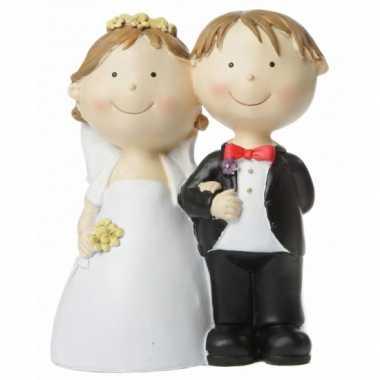 Bruid en bruidegom spaarpot bestellen