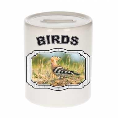 Dieren hop vogel spaarpot birds vogels spaarpotten kinderen 9 cm