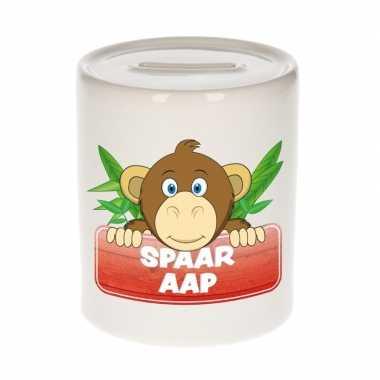 Dieren spaarpot apen 9 cm bestellen