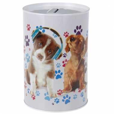 Dieren spaarpot honden 15 cm bestellen