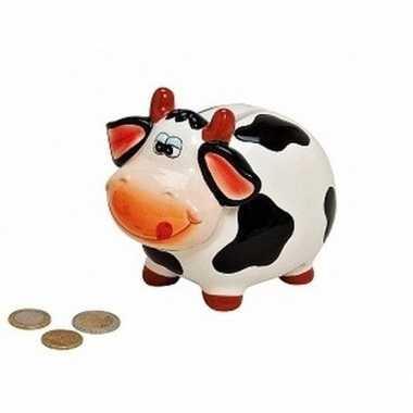 Dieren spaarpot koe 12 cm bestellen