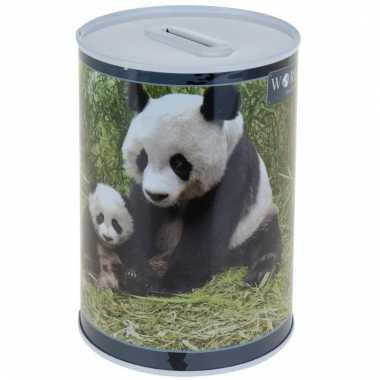 Dieren spaarpot panda 15 cm bestellen