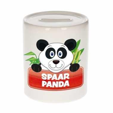Dieren spaarpot panda 9 cm bestellen