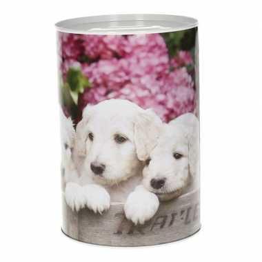 Dieren spaarpot puppy 15 cm type 1 bestellen