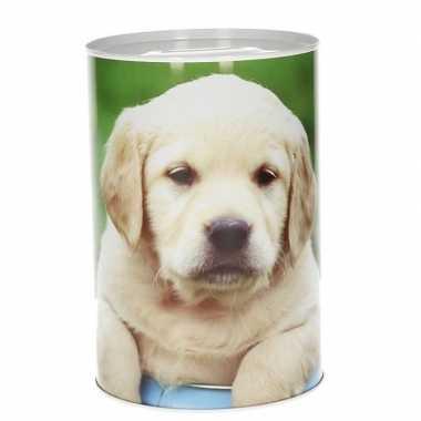 Dieren spaarpot puppy 15 cm type 2 bestellen