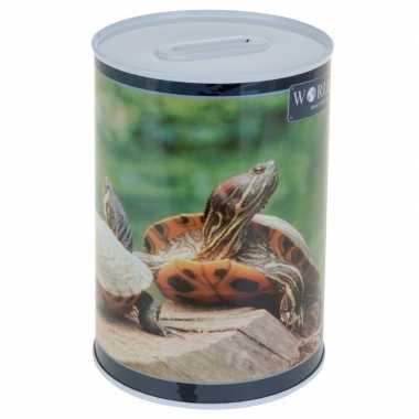 Dieren spaarpot schildpad 15 cm bestellen