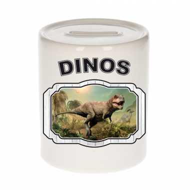 Dieren stoere t rex dinosaurus spaarpot dinosaurs dinosaurussen spaarpotten kinderen 9 cm