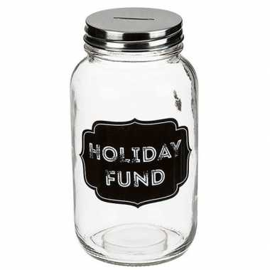 Funny spaarpot holiday fund