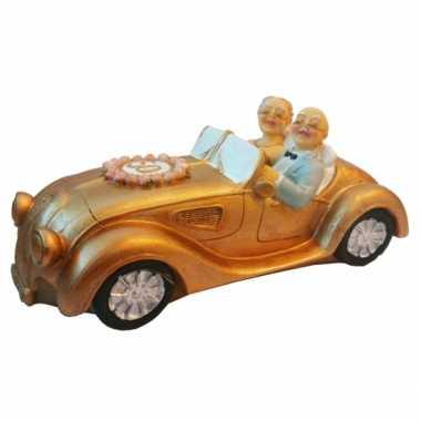 Gouden huwelijk spaarpot auto bestellen