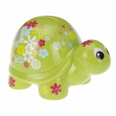 Hersluitbare schildpad spaarpot bestellen