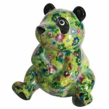 Kado spaarpot pandaatje type 5 15 cm bestellen