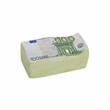 Keramieken spaarpot 100 euro 16 cm bestellen