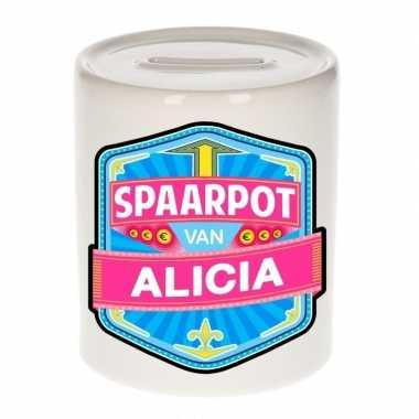 Kinder spaarpot keramiek van alicia bestellen