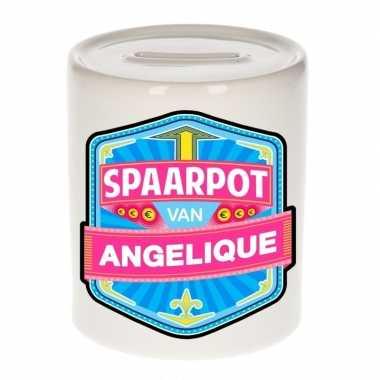 Kinder spaarpot keramiek van angelique bestellen