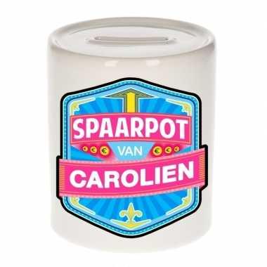 Kinder spaarpot keramiek van carolien bestellen