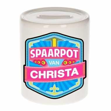 Kinder spaarpot keramiek van christa bestellen