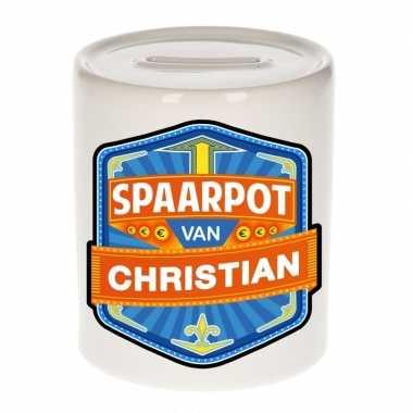 Kinder spaarpot keramiek van christian bestellen