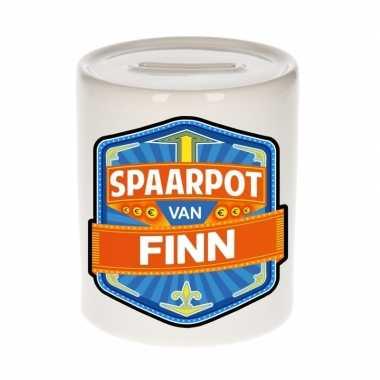Kinder spaarpot keramiek van finn bestellen