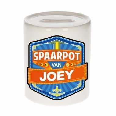 Kinder spaarpot keramiek van joey bestellen