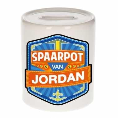 Kinder spaarpot keramiek van jordan bestellen