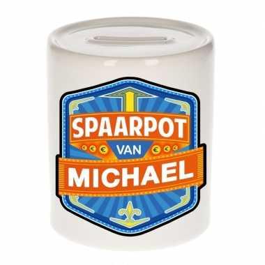 Kinder spaarpot keramiek van michael bestellen