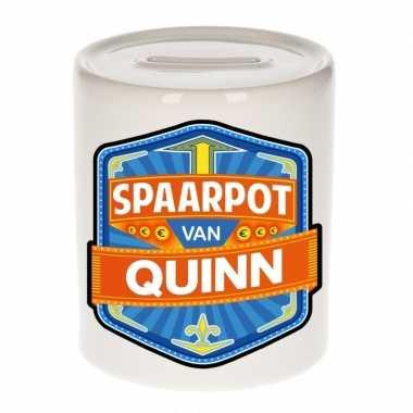 Kinder spaarpot keramiek van quinn