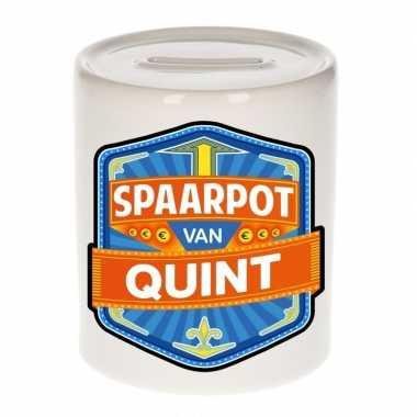 Kinder spaarpot keramiek van quint bestellen