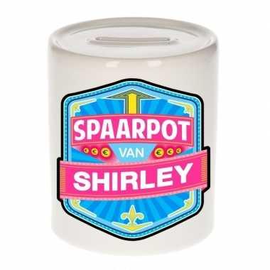 Kinder spaarpot keramiek van shirley