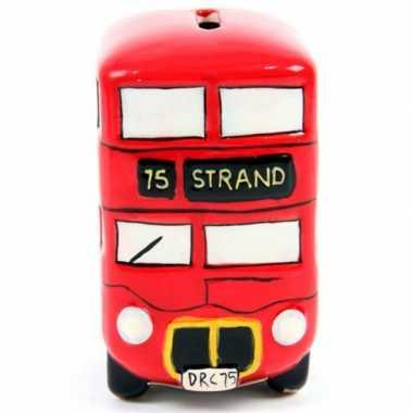 London bus spaarpot keramiek bestellen
