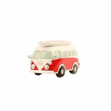 Rode Volkswagen T1 bus Spaarpot bestellen