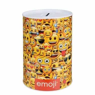 Smiley spaarpot 10 cm type 1 bestellen