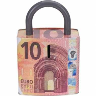 Spaarpot 10 eurobiljet 25 cm bestellen