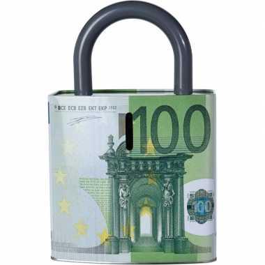 Spaarpot 100 eurobiljet 25 cm bestellen
