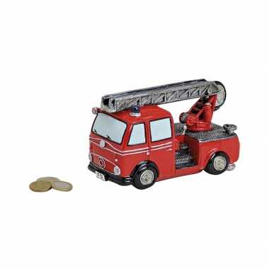 Spaarpot brandweer 16 cm bestellen