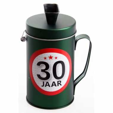 Spaarpot kado voor een 30 jarige bestellen
