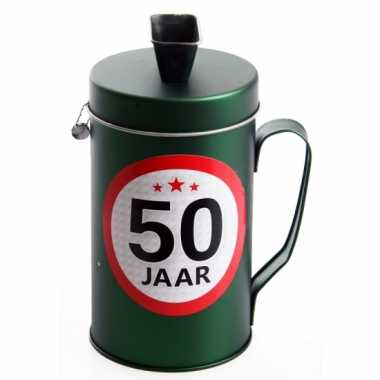 Spaarpot kado voor een 50 jarige bestellen