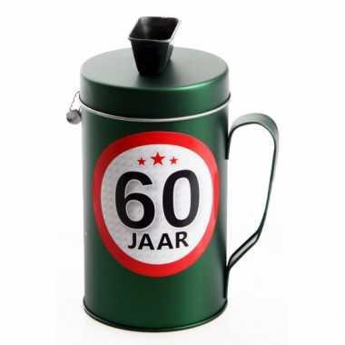 Spaarpot kado voor een 60 jarige bestellen