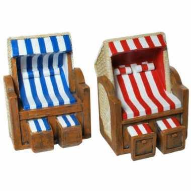 Spaarpotten strandstoel bestellen