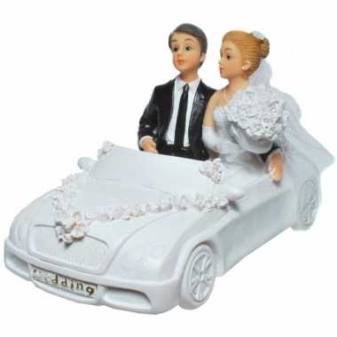 Spaarpotten trouwauto met bruidspaar bestellen