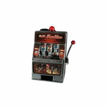 Speelautomaat spaarpot bestellen