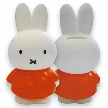 Speelgoed Nijntje spaarpot oranje bestellen