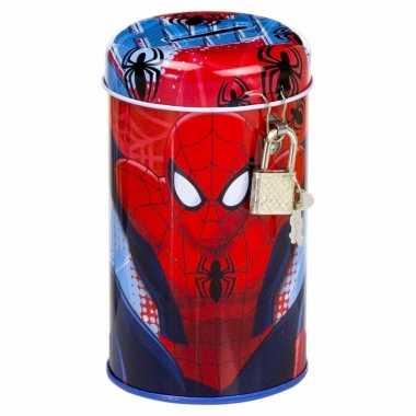 Superheld spiderman spaarpotten bestellen