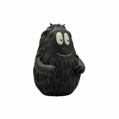 Zwarte barbabob spaarpot 18 cm bestellen