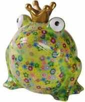 Kado mega spaarpot kikker licht groen 28 cm