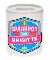 Kinder spaarpot keramiek van brigitte